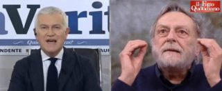 """Belpietro vs Gino Strada: """"Aprite le porte a tutti"""". """"Siete matti, chi è il cretino che pensa di fermare emigrazioni?"""""""