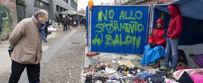 Torino, spostare il mercato del Balon è un'operazione di rozza chirurgia
