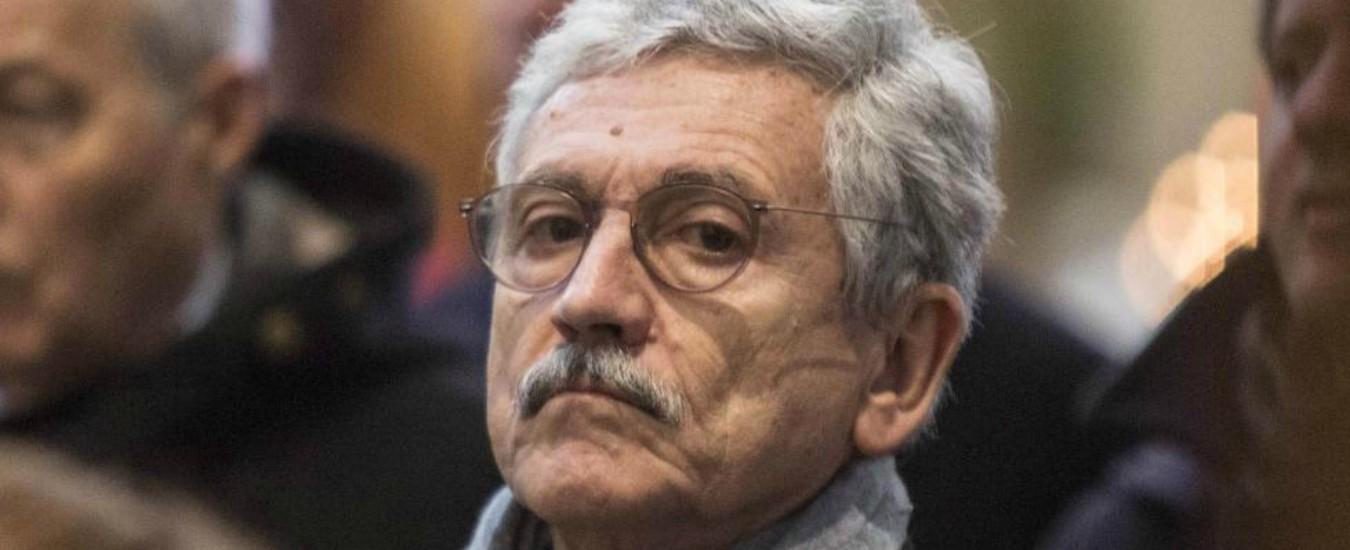 """Primarie Pd, endorsement di D'Alema per Zingaretti. Renziani: """"Torna la ditta, ora tutto più chiaro"""""""