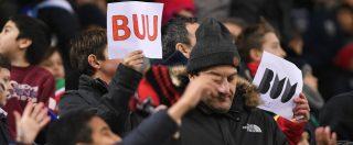 """Stadi, cambia la procedura contro i cori razzisti: sospensione al secondo episodio. Salvini contrario: """"Non facciamo ridere"""""""
