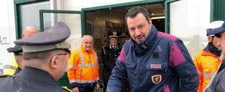 """Tav, Salvini a Chiomonte: """"Prima si fa e meglio è"""". Muro M5s: """"Basta chiacchiere, opera inutile e un cantiere non c'è"""""""