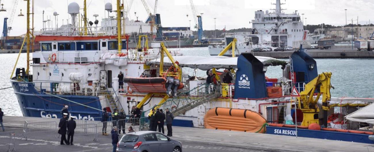 """Sea Watch, Avvenire: """"Due procure indagano sull'omesso sbarco dei minori a Siracusa e sul trasferimento a Catania"""""""