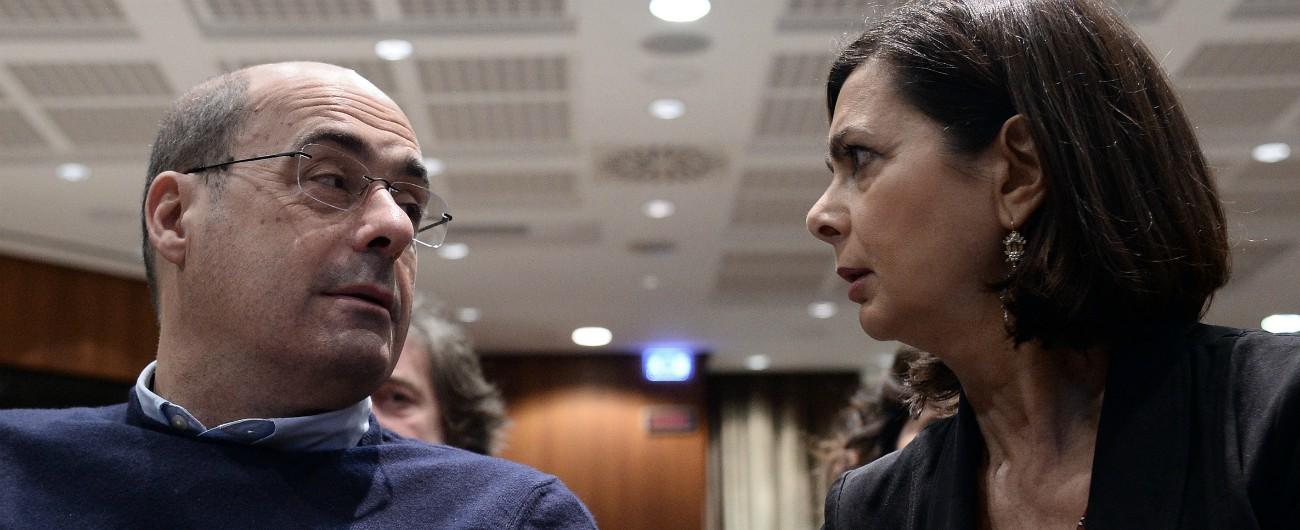 """Risultato immagini per Zingaretti e Boldrini immagini"""""""