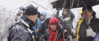 """No Tav, palle di neve e manganellate al cantiere di Chiomonte: """"Salvini colluso con i poteri forti"""""""