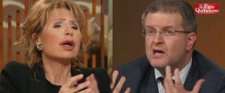 """Ong, Fidanza (FdI) vs Gruber: """"Sono pagate da Soros e da speculatori internazionali"""". """"Lei ha già raccontato tante balle"""""""
