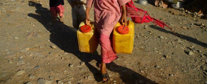 I cambiamenti climatici possono scatenare guerre. Per mantenere la pace difendiamo l'acqua