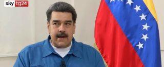 """Maduro: """"Non vi fate trascinare da Usa che vogliono colpo di Stato. Venezuela non sia nuovo Vietnam"""""""