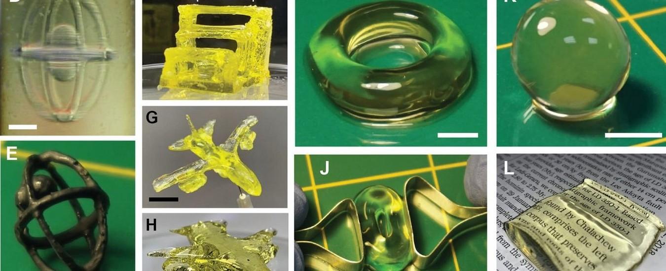 Replicator è la stampante 3D ispirata da Star Trek che crea oggetti con la luce