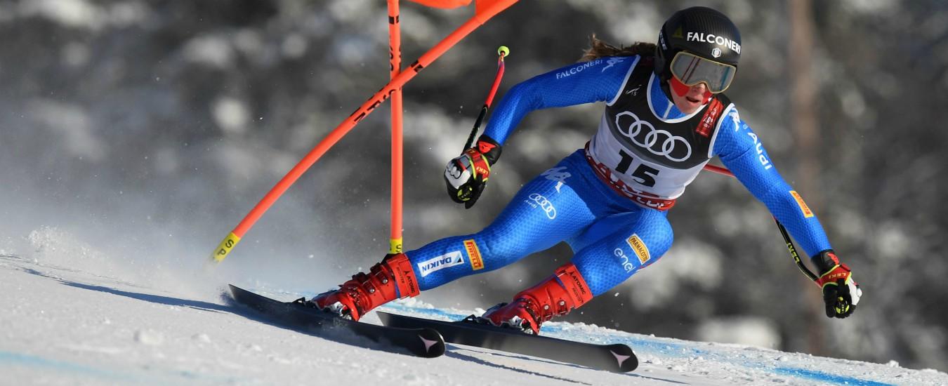Mondiali sci, SuperG: Goggia è argento. Battuta da Shiffrin per soli 2 centesimi