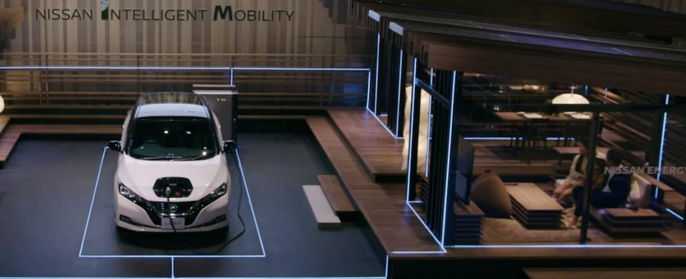Nissan progetta la casa alimentata con la batteria dell'auto elettrica