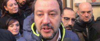 """Tav, Salvini: """"Querelo chi parla di scambio col M5s con voto in Senato. Analisi costi-benefici? Non ne so nulla"""""""