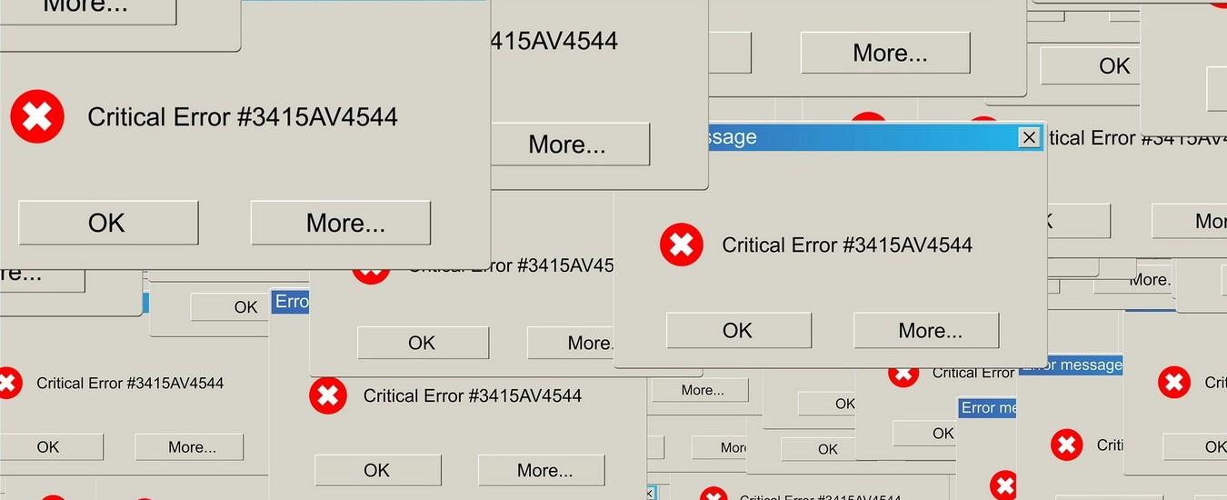 Windows 10 visualizzerà messaggi di errore comprensibili, in alcuni casi proporrà la soluzione ai problemi