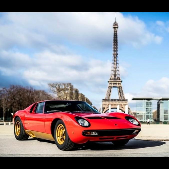 La Lamborghini Miura SV restaurata di Jean Todt al Rétromobile di Parigi