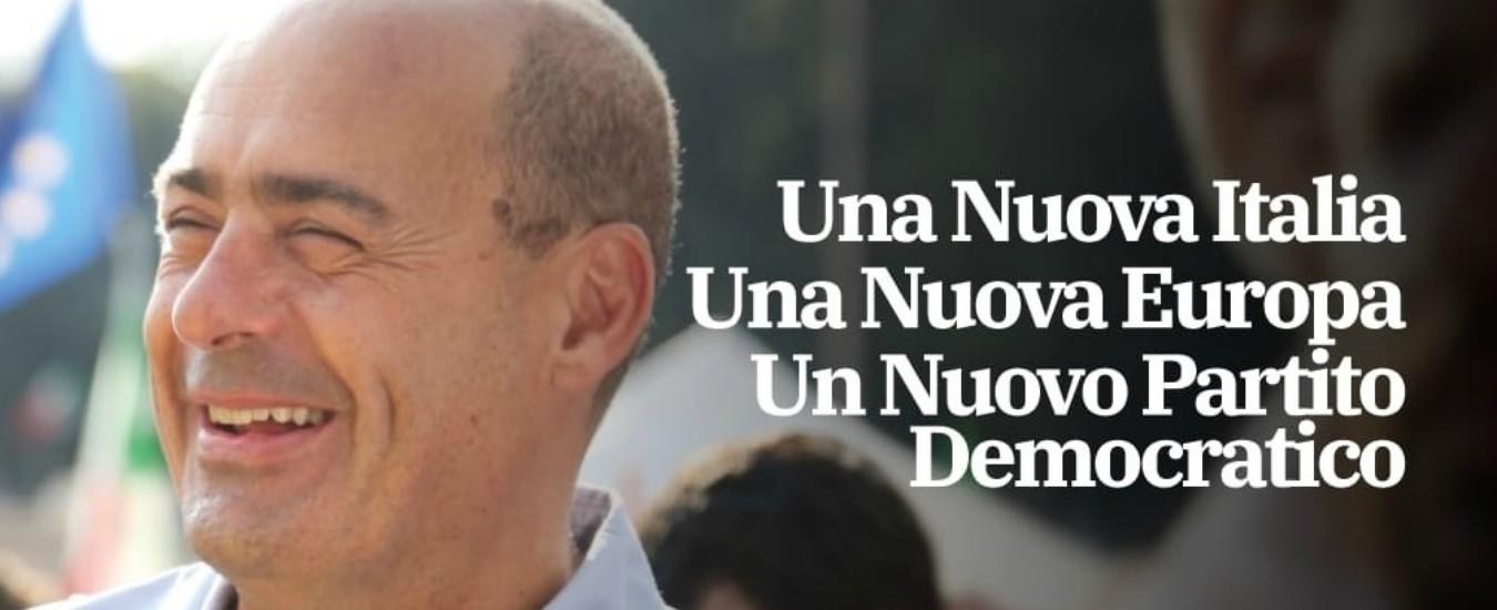 Primarie Pd, per Zingaretti niente simbolo dem su volantini. Giachetti: 'Molto grave'