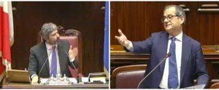 """Pil, Tria interrotto in Aula si infuria con Brunetta: """"Ma stai zitto!"""". Scoppia la bagarre, Fico riprende il ministro"""