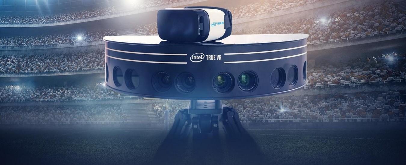 Partite di calcio più coinvolgenti con le riprese di 38 telecamere 5K e la tecnologia Intel