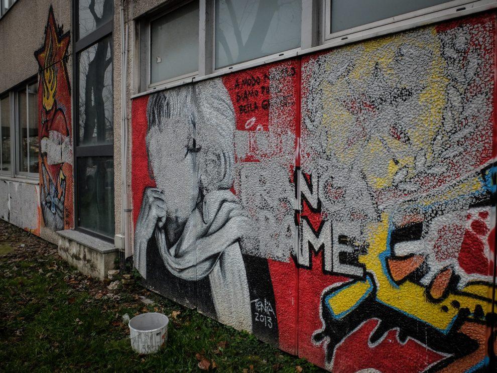 Franca Rame Imbrattato A Milano Il Murale Dedicato All Attrice Dopo