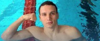 """Manuel Bortuzzo, l'audiomessaggio del nuotatore ferito: """"Grazie, vi abbraccerei tutti. Tornerò più forte di prima"""""""