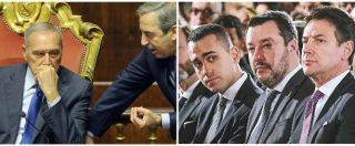 """Diciotti, Grasso: """"Gasparri mandi al tribunale di Catania le memorie di Salvini, Conte e Di Maio. O è un reato"""""""