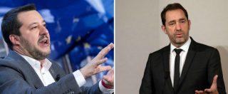 """Scontro Italia-Francia, il ministro Castaner a Salvini: """"Io a Roma? Non mi faccio convocare da nessuno"""". Lui: """"Lo ospito"""""""