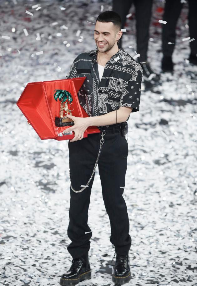 Sanremo 2019    il vincitore è Mahmood  Secondo Ultimo    terzi Il Volo  Polemiche