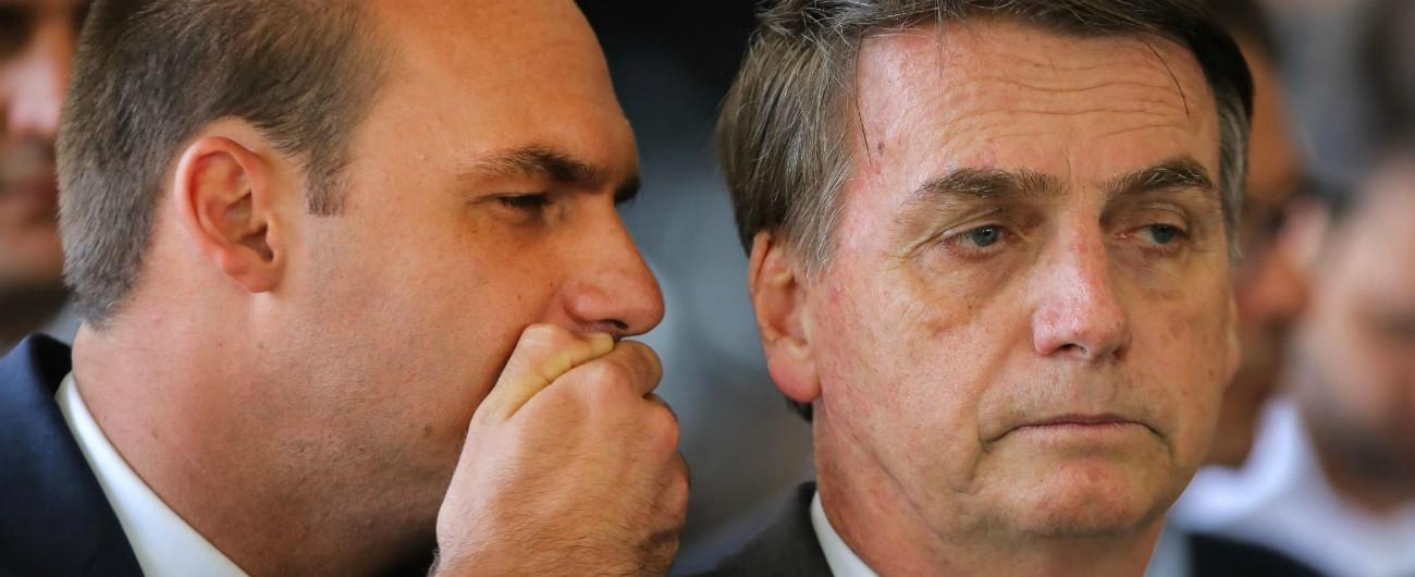 Brasile, il legame Bannon-Bolsonaro esce dall'ombra: il figlio del presidente sarà leader del Movimento in America latina