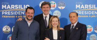 Voto Abruzzo, vince il centrodestra con Marsilio (47,6%). Legnini al 30,6. Lega primo partito al 26,2%, M5s al 19,8
