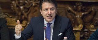 """Giuseppe Conte: """"Il governo va avanti anche dopo le Europee, niente manovra correttiva. E nemmeno patrimoniale"""""""