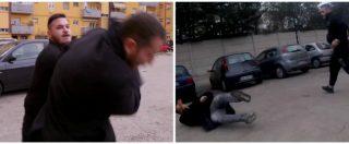 Pescara, il giornalista Piervincenzi e la troupe Rai aggrediti di nuovo: schiaffi e calci nella piazza di spaccio