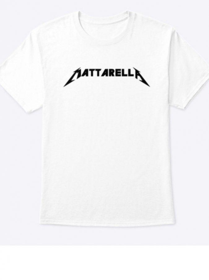 """Mattarella Rocks, la storia delle t-shirt con il nome del presidente versione """"Metallica"""""""