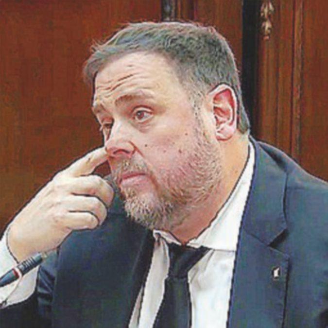 "Junqueras tace: si considera ""prigioniero politico"""