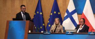 """Europee, Di Maio presenta i 4 alleati e un Manifesto in 10 punti: """"Vogliamo un'Ue più vicina ai cittadini"""""""
