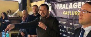 """Diciotti, Salvini: """"Consultazione online su di me? Dormo tranquillissimo. Se servirà lo rifarò"""""""