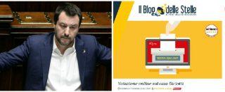 Diciotti, lunedì il voto su Rousseau tra iscritti M5s. Il quesito: bisogna scegliere il No per mandare Salvini a processo