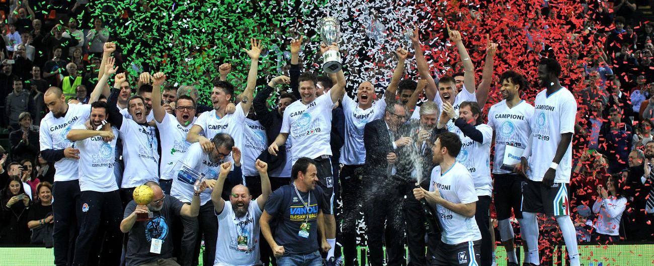 Coppa Italia di basket, con la Vanoli Cremona (e Brindisi in finale) vince lo sport 'normale' della provincia italiana