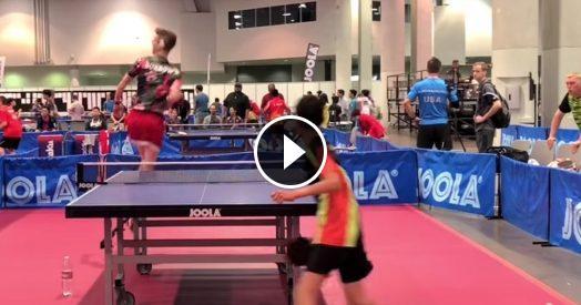 Adam bobrow li macchia tutti le sue prodezze sul tavolo da ping pong lasciano pubblico e - Video sesso sul tavolo ...