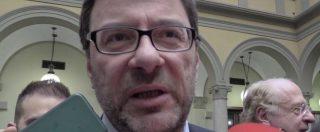 """Diciotti, Giorgetti: """"Voto online M5s? Governare vuol dire assumersi responsabilità"""""""