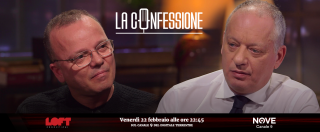 """La Confessione, Gigi D'Alessio su Nove: """"Alla camorra ho regalato canzoni? Andavo a cantare ai matrimoni, non potevo chiedere il certificato penale"""""""