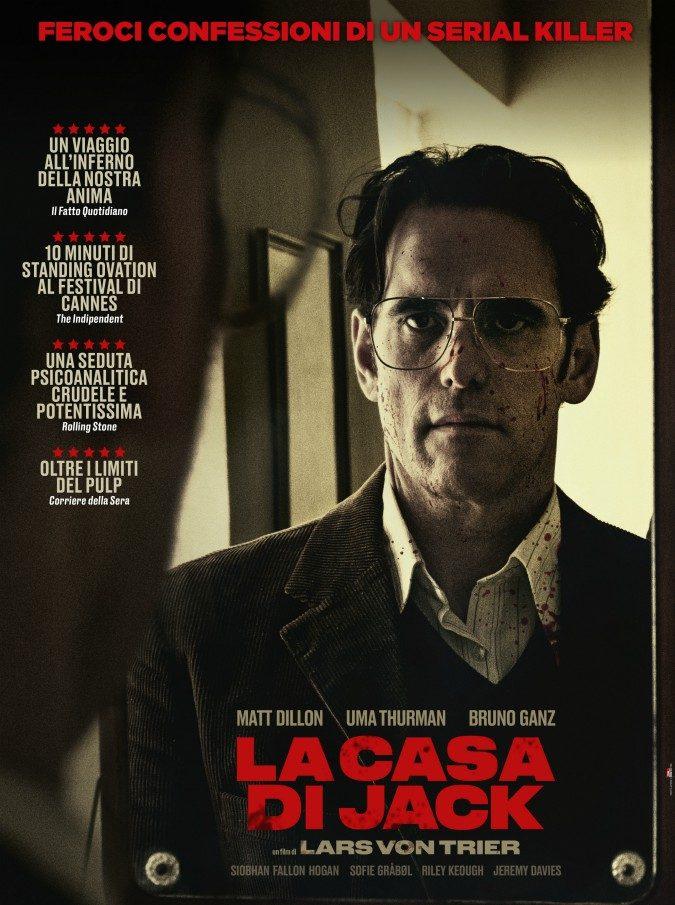 Lars von Trier, nella Casa di Jack il viaggio infernale di Matt Dillon nei panni di un artista psicopatico e serial killer