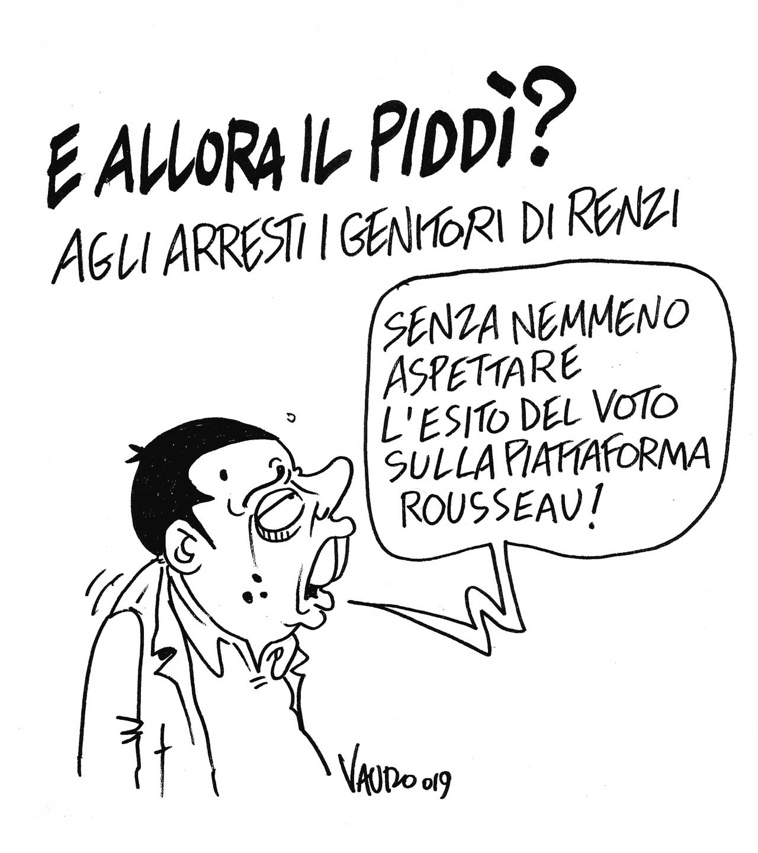 la vignetta di Vauro