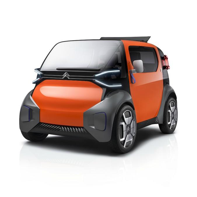 Citroën Ami One Concept, il prototipo di biposto elettrica debutta a Ginevra – FOTO
