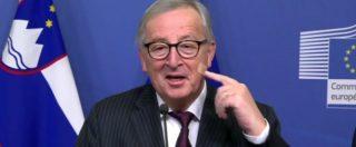 """Procedura Ue, Juncker: """"Italia sbaglia direzione"""". Conte: """"Convinti della linea"""". Convocato vertice per decidere strategia"""