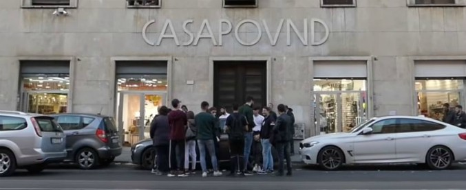 """Casapound, Corte dei Conti: """"Danno erariale da occupazione, Miur e Demanio risarciscano 4,6 milioni di euro"""""""