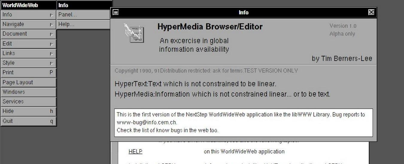 Com'era il World Wide Web nel 1990? Il CERN ha messo online una pagina navigabile per rendere l'idea