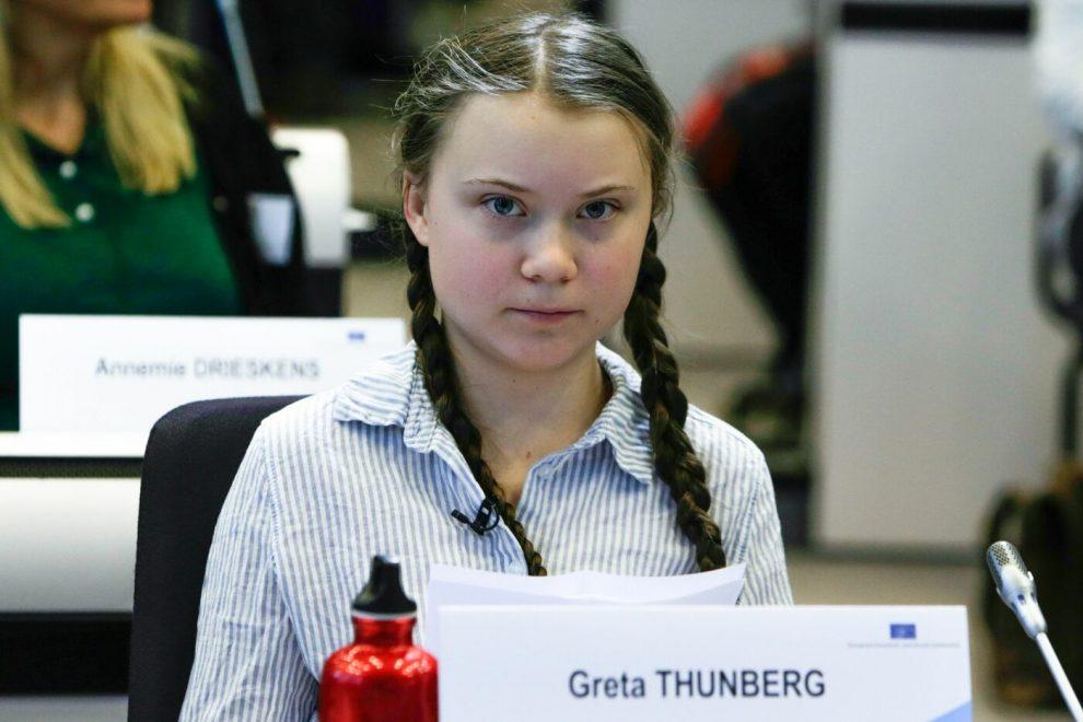 Risultati immagini per Greta Thunberg