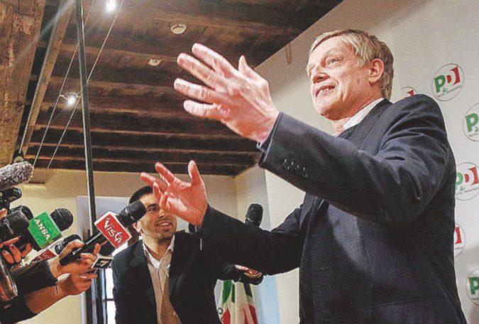 """Zingaretti & C. rifiutano il  """"complotto"""", ma tutti sono """"vicini"""" a Matteo"""