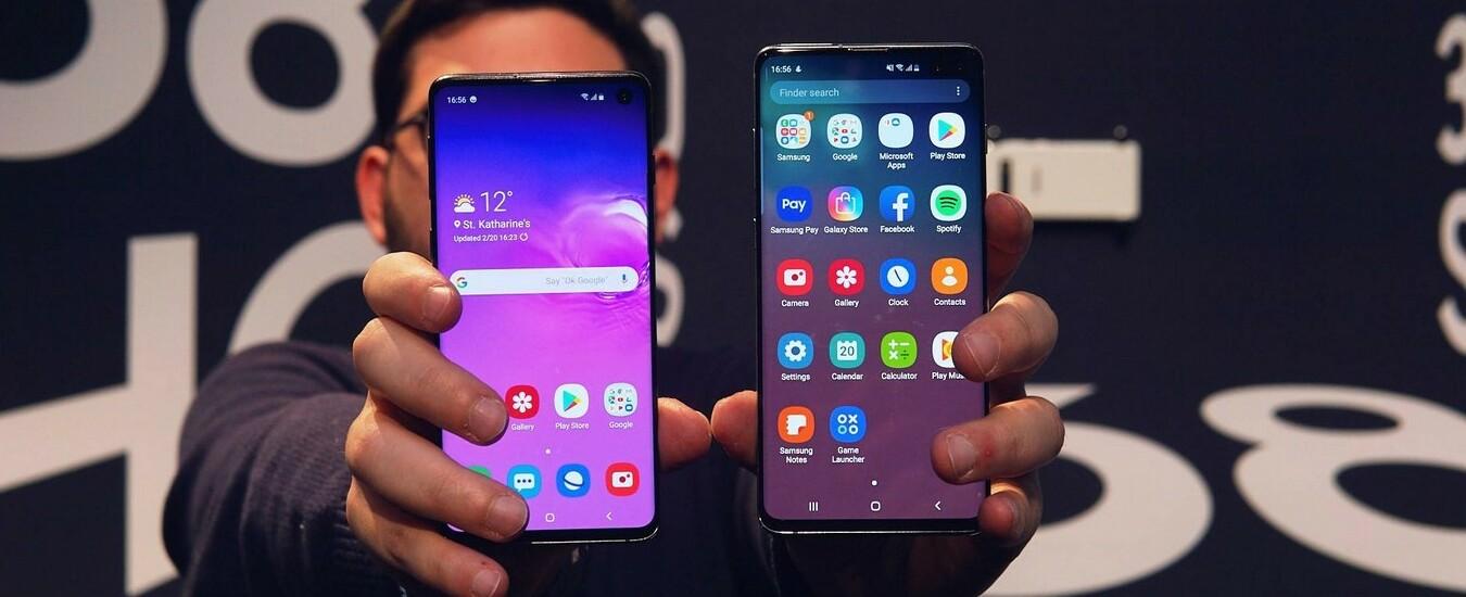 Samsung ha presentato il Galaxy S10 e lo smartphone pieghevole Fold