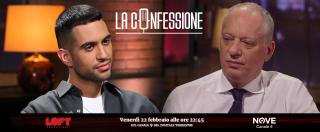 """La Confessione, Mahmood su Nove: """"Salvini? Mi ha scritto complimentandosi, anche se 'non rientro nei suoi gusti musicali"""