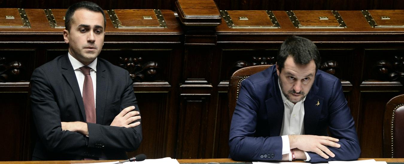 """Di Maio: """"Porti chiusi misura occasionale, di fronte a crisi in Libia non basterebbe"""". Salvini: """"Finché ci sono restano sigillati"""""""