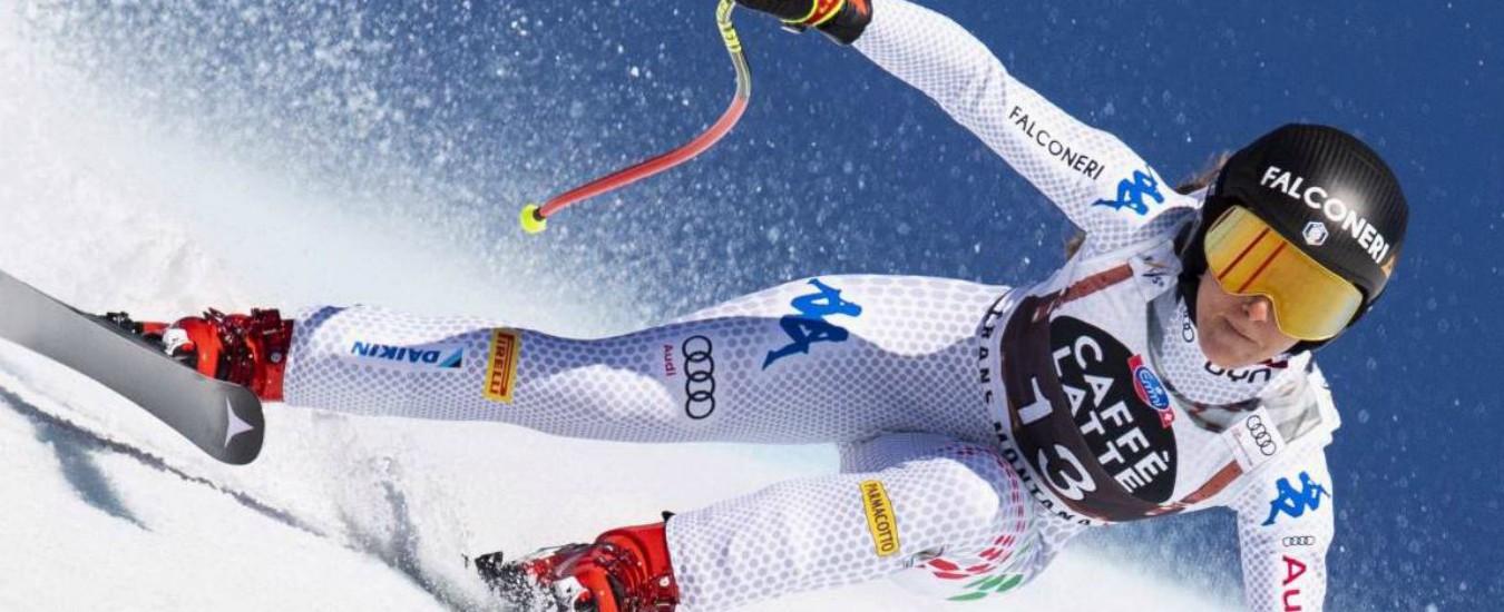 Sci, Sofia Goggia trionfa nella discesa libera di Crans Montana: è la sua sesta vittoria di Coppa del Mondo in carriera